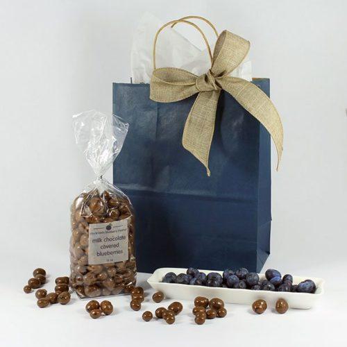 milk chocolate covered Blueberries