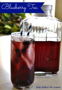6 - blueberry tea